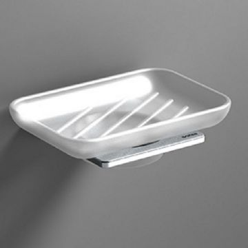 Sonia S-Cube Soap Dish Chrome 166886